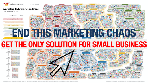 Get the only end-to-end automated marketing system for small business